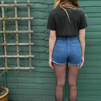 80s Denim Highwaisted Shorts  from CutFromTheSameCloth