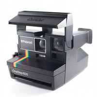 Vintage Polaroid Land Camera Spirit 600 Retro Hipster Rainbow Instant Photo