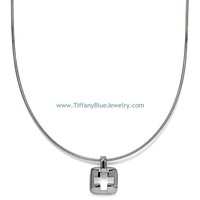Find The Last Cheap Tiffany & Co Stencil Cross Pendant Necklace In Tiffanybluejewelry.com