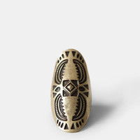 Aztec Treasure Ring - $11.00 : ThreadSence, Women's Indie & Bohemian Clothing, Dresses, & Accessories