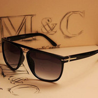 Cross big black frame sunglasses