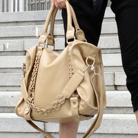 Commuting chain baglarge capacity  shoulder bag handbag