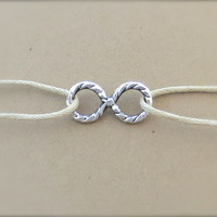 Endless Summer Nautical Style Infinity Anklet Bracelet