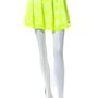 Neon Floral Lace Skirt
