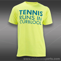 Babolat Mens Tennis T-Shirts, Babolat Tennis Runs in Our Blood Short Sleeve Shir
