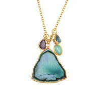 Love, Adorned : LOLA BROOKS TOURMALINE SLAB NECKLACE