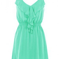 The 2013 Ruffle Jade Dress