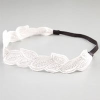 FULL TILT Leaf Crochet Headband