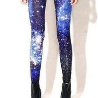 Candyspell — Blue Galaxy Leggings