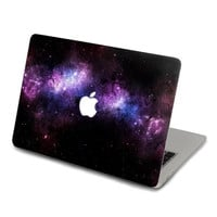 Purple Nebula Decal for Macbook Pro, Air or Ipad Stickers Macbook Decals Apple Decal for Macbook Pro / Macbook Air J-019