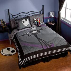 Jack Skellington Duvet Cover