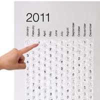 2011 BUBBLE CALENDAR