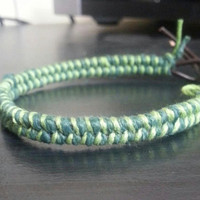 Fishtail Leather bracelet