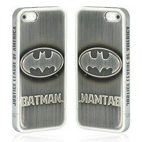 Batman iPhone 5 Protective Case -- Silver