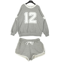 Jersey Pullover and Shorts | FashionShop【STYLENANDA】