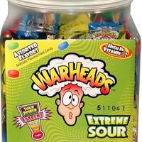 Warheads Extreme Sour Hard Candy (Pack of 240)