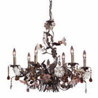 Elk Lighting 85002 - Cristallo Fiore Transitional Chandelier ELK-85002