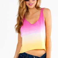 Sweet Ombre Tank $22