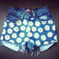 Daisy HighWaisted Denim Levis Shorts by NovaClothing on Etsy