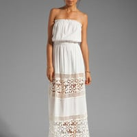 6 SHORE ROAD Charlotte&#x27;s Maxi Dress in Shell from REVOLVEclothing.com