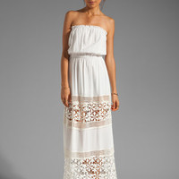 6 SHORE ROAD Charlotte's Maxi Dress in Shell from REVOLVEclothing.com