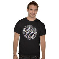 Skulls - Black T-shirt at Zazzle.ca