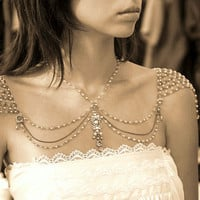 Necklace For The SHOULDERS 1920s Inspiration by mylittlebride