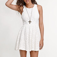 Kirra Lace Back Cutout Dress at PacSun.com