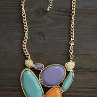 Eye Catcher Necklace, Brights
