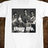 Full House Thug Life And Shades Shirt!