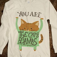 The Cat's Pajamas (long sleeve) - Ruralrule - Skreened T-shirts, Organic Shirts, Hoodies, Kids Tees, Baby One-Pieces and Tote Bags