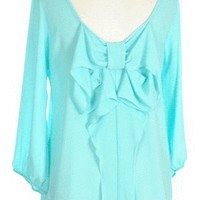 Bowdacious Babe in Aqua - New Arrivals