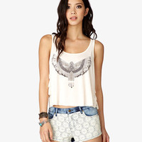 Tribal-Inspired Ruffle Tank | FOREVER 21 - 2039577229