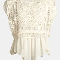 Creative Commune Crochet Top | Nordstrom
