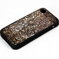 Retro Carving Wood Pattern iPhone 4S/4 Case,iPhone 5 Case,iPod Touch 5 and 4 Case,and Samsung Galaxy Phone Case