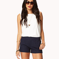 Essential Eyelet Shorts