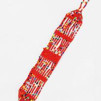 Diament Jewelry For Urban Renewal Red Beaded Bracelet