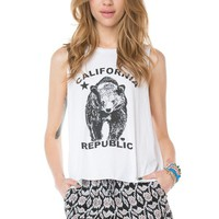 Brandy ♥ Melville |  Kate CA Bear Tank - Just In