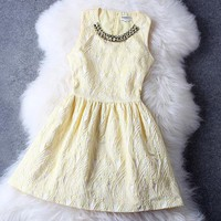 Yellow Dress #116