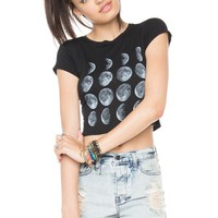 Brandy ♥ Melville |  Carolina Moon Phase Top - Graphic Tops - Clothing