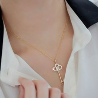 SuYeon Shine Key Necklace