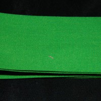 Green Cotton Bias Tape Binding for Clothes Quilts Craft Projects