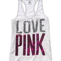 Bling Yoga Tank - Victoria's Secret Pink® - Victoria's Secret