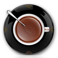Coffee Time Creative Art Wall Clock