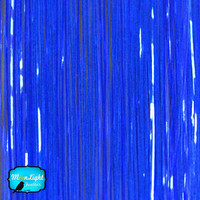 100 Strands - ROYAL BLUE Hair Tinsel - 36 Inches Long