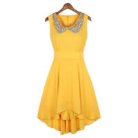 Beautiful High-Low Chiffon Dress