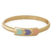 The Path You're Chevron Bracelet | Mod Retro Vintage Bracelets | ModCloth.com