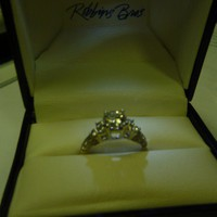 Have You Seen the Ring?: Round 0.84cts White Gold Diamond Engagement Ring