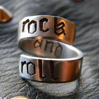rock & roll spiral ring