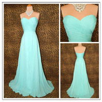 Aqua Grace Timeless Glamour Prom Dress from Cute Dress